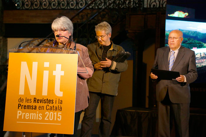 Nit de les Revistes i la Premsa en Català 2015