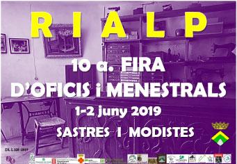10a. FIRA D'OFICIS I MENESTRALS DE RIALP