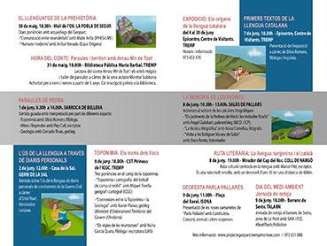 III Setmana dels Geoparcs Europeus