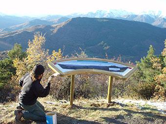 taules panoràmiques a l'Alta Ribagorça