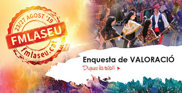 L'enquesta on line per valorar la Festa Major 2019
