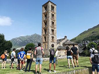 visites al conjunt romànic