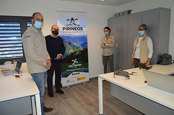 Pirineos Drone